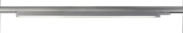 Deko-Light Schienensystem 3-Phasen 230V, Linear 60, Aluminium, silberfarben mattiert, Neutralweiß