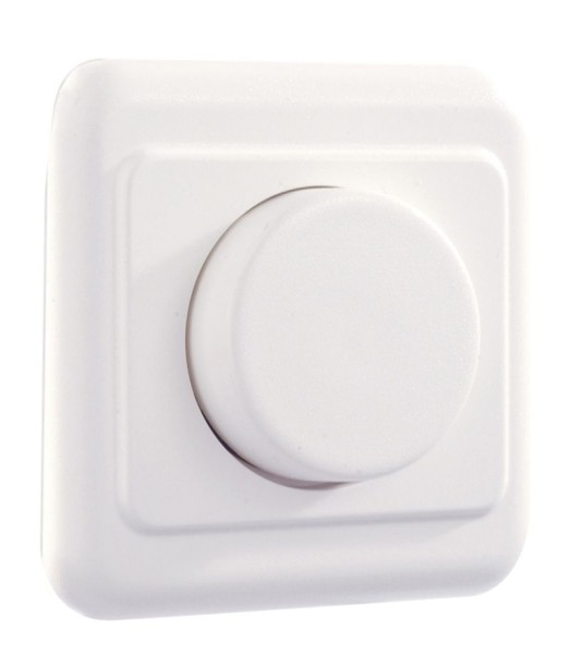 Deko-Light Zubehör, Dimmer Phasenanschnitt, Kunststoff, Weiß, 500W, 230V