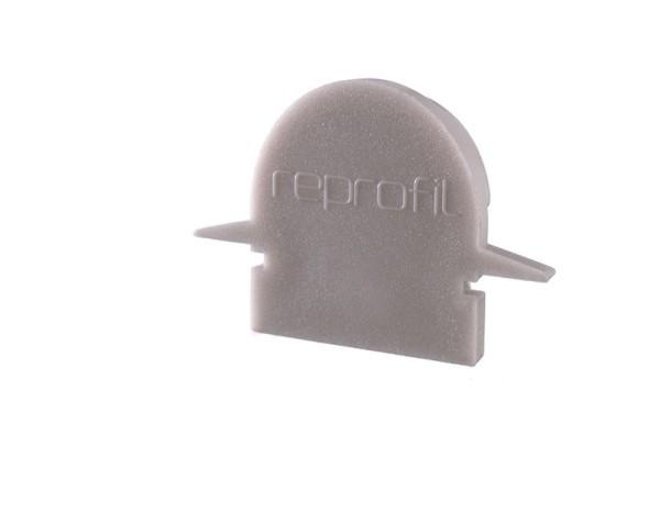 Reprofil Profil Zubehör, Endkappe R-ET-01-08 Set 2 Stk, Kunststoff, Grau, 23x6mm