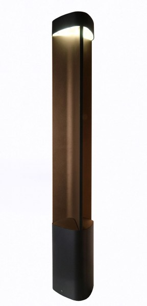 Deko-Light Stehleuchte, Trila, Aluminium Druckguss, anthrazit, Warmweiß, 6W, 230V, 129x123mm