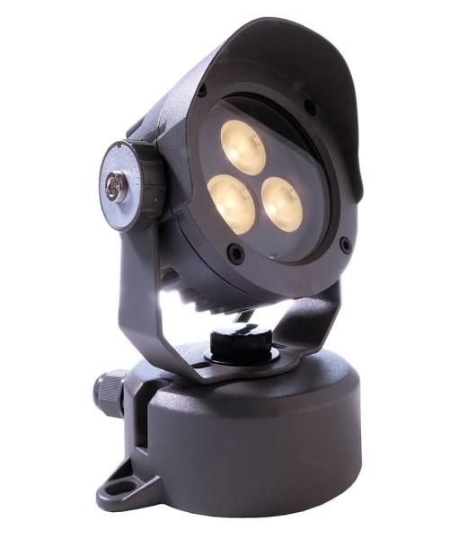Deko-Light Boden- / Wand- / Deckenleuchte, Power Spot IV WW, Aluminium Druckguss, anthrazit, 20°, 5W