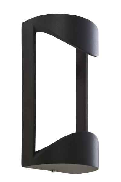 Deko-Light Zubehör, Abdeckung für Leuchte Grumium rund I, Aluminium Druckguss, Dunkelgrau, 105x73mm