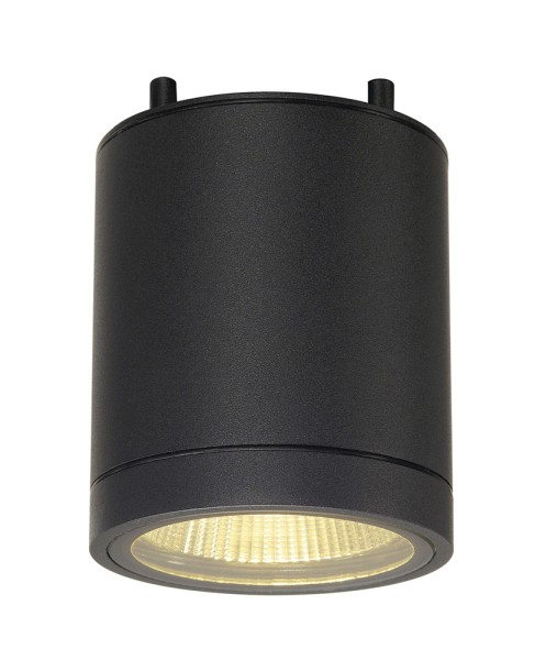 ENOLA_C, Outdoor Deckenleuchte, LED, 3000K, IP55, rund, anthrazit, 35°