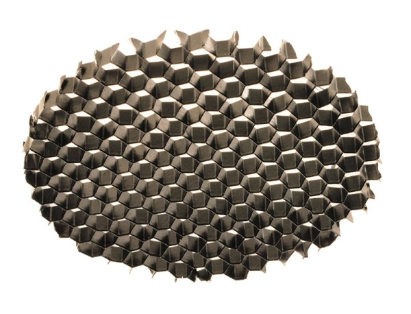 Deko-Light Zubehör, Wabenfilter für Serie Nihal, Aluminium, Schwarz-matt