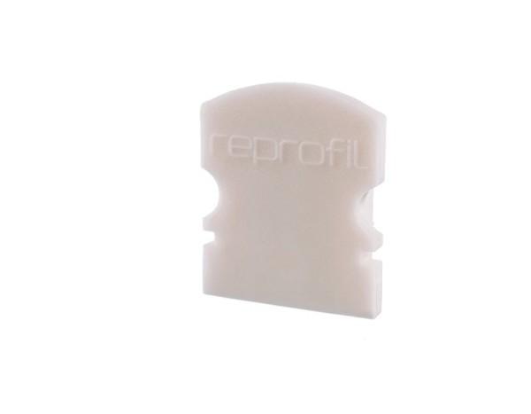 Reprofil Profil Zubehör, Endkappe F-AU-02-08 Set 2 Stk, Kunststoff, Weiß, 14x6mm