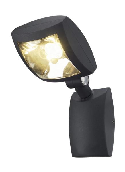 MERVALED, Outdoor Wandleuchte, LED, 3000K, IP54, anthrazit, 14W