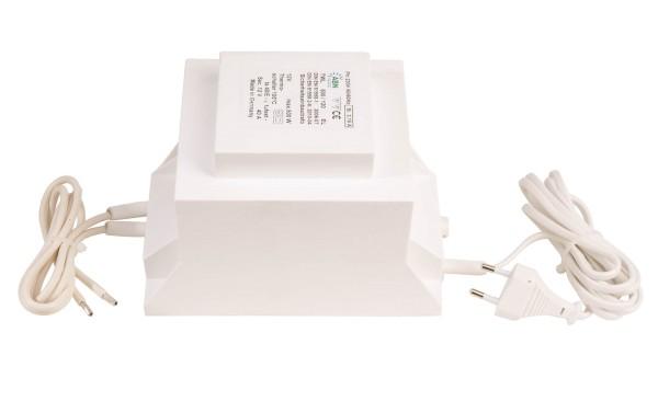 Netzgerät, ABN Transformator 12 VAC, 500 W, IP20, Kunststoff, Weiß, 500W, 11V, 177x107mm