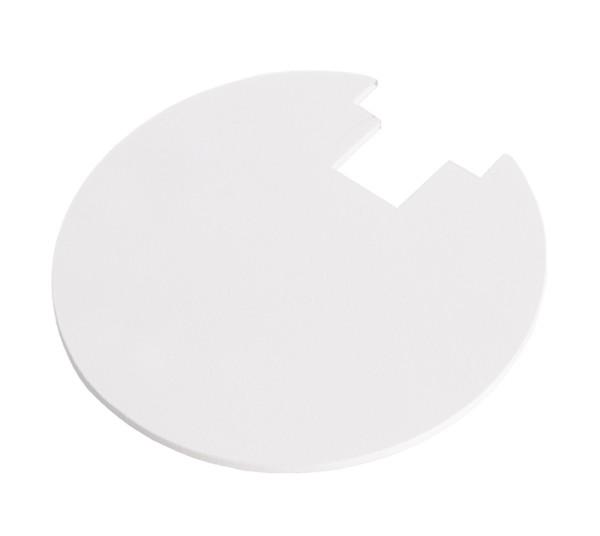 Deko-Light, Abdeckung Hinten Weiß für Serie Uni II Mini, Metall, Weiß, IP20