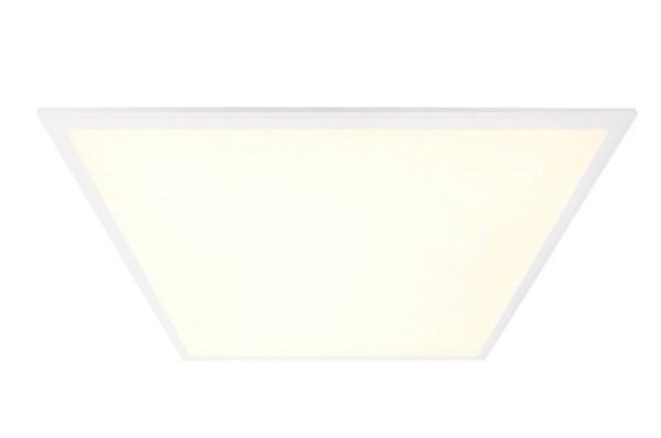 Deko-Light Einlegerasterleuchte, LED Panel PRO, Aluminium, Weiß, Warmweiß, 100 °, 37W, 35V, 1050mA
