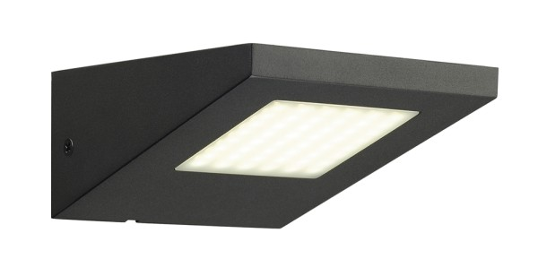 IPERI WALL, Outdoor Wandleuchte, LED, 4000K, IP44 , anthrazit, 48 LED, 5W