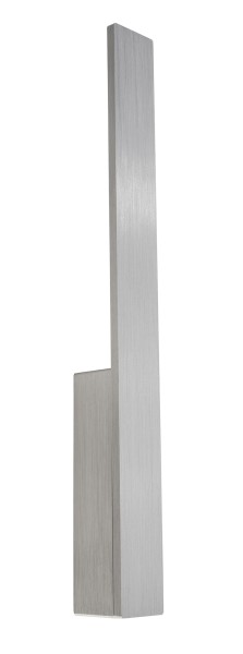 Deko-Light Wandaufbauleuchte, Parala 425, Aluminium Druckguss, silberfarben gebürstet, Warmweiß, 4W