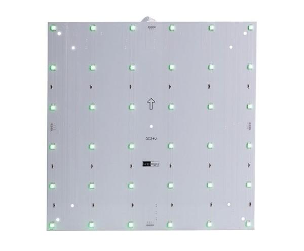 Deko-Light Modular System, Modular Panel II 6x6, Aluminium, Weiß, RGB, 120°, 9W, 24V, 265x265mm