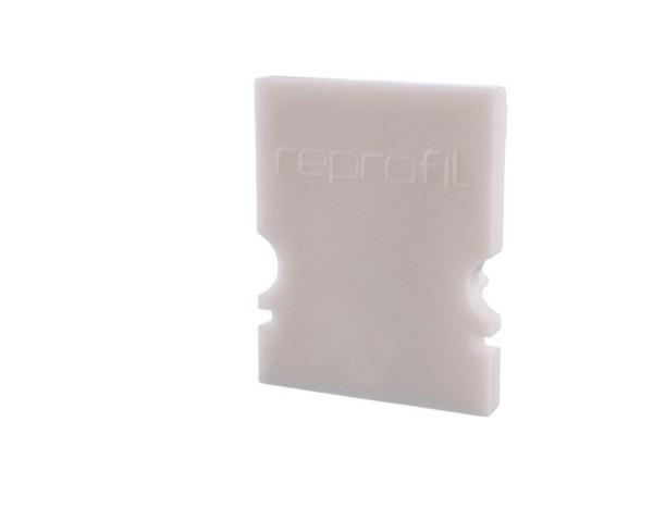 Reprofil Profil Zubehör, Endkappe H-AU-02-10 Set 2 Stk, Kunststoff, Weiß, 16x6mm