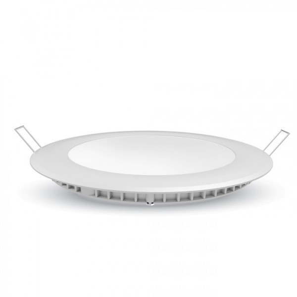 THINLY R24, Einbauleuchte, LED, 3000K, rund, weiß, 24W, Set inkl. Netzteil