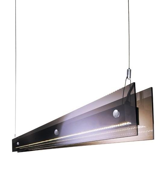 Deko-Light Pendelleuchte, Acrilo White Remote, Acrylglas / Plexiglas, Braun, Warmweiß + Kaltweiß