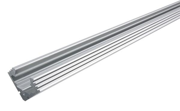45-Aluminium, Silber-matt, eloxiert, 2000 mm