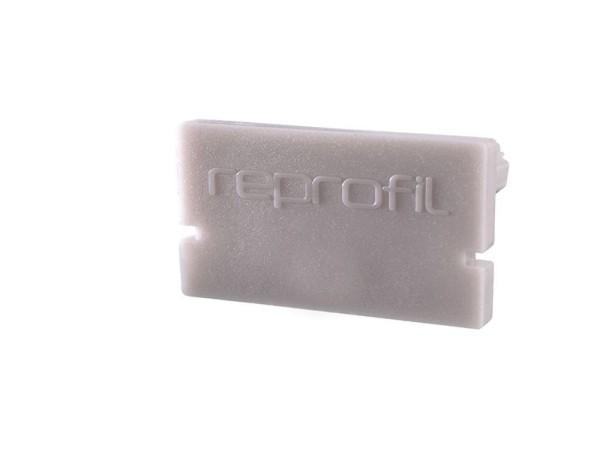 Reprofil Profil Zubehör, Endkappe H-AU-01-15 Set 2 Stk, Kunststoff, Grau, 21x6mm
