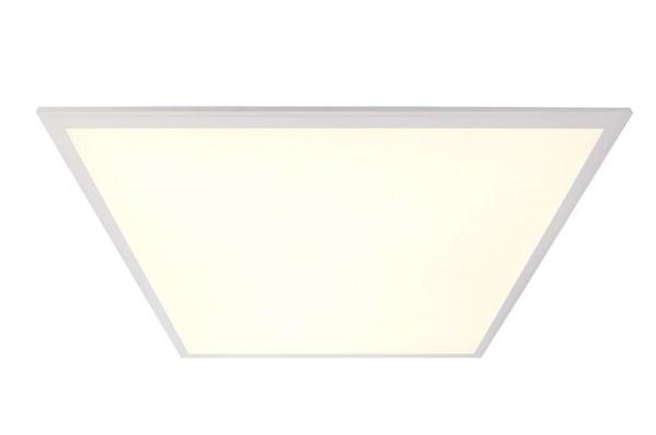 Deko-Light Einlegerasterleuchte, CCT WW/CW, Aluminium, weiß, Warmweiß + Kaltweiß, 120 °, 48W, 24V