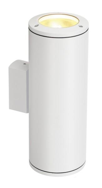 ROX PRO, Outdoor Wandleuchte, HIT-CE, IP44, weiß, max. 70W
