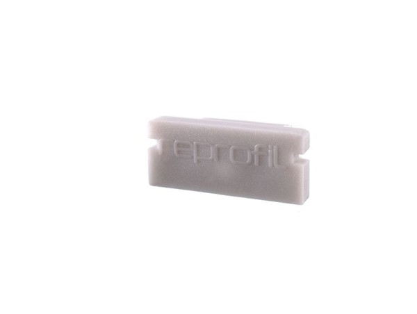 Reprofil Profil Zubehör, Endkappe P-AU-01-10 Set 2 Stk, Kunststoff, Grau, 16x6mm