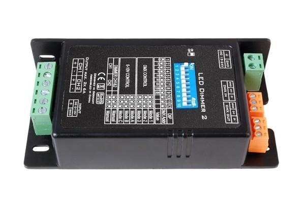 Deko-Light Controller, LED Dimmer 2, Kunststoff, Schwarz, 288W, 12-24V, 115x57mm