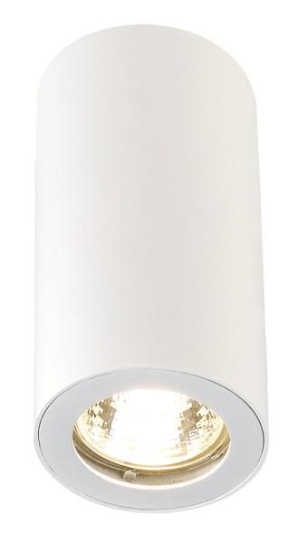 ENOLA_B CL-1, Deckenleuchte, QPAR51, rund, weiß, max. 35 W