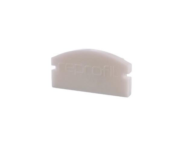 Reprofil Profil Zubehör, Endkappe F-AU-01-12 Set 2 Stk, Kunststoff, Weiß, 18x6mm
