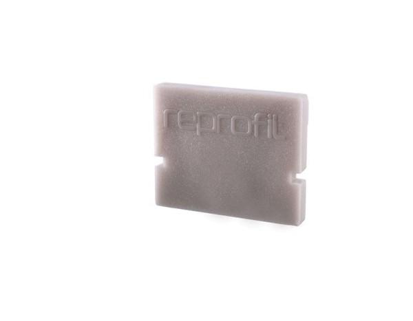 Reprofil Profil Zubehör, Endkappe H-AU-01-08 Set 2 Stk, Kunststoff, Grau, 14x6mm