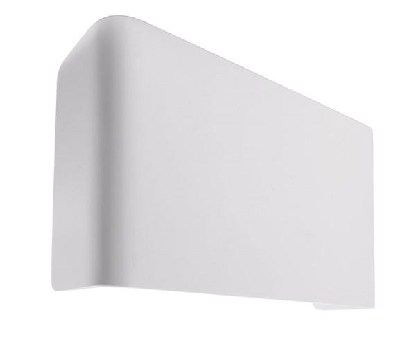 Deko-Light Zubehör, Abdeckung Crateris II+III Aluminium Weiß groß, Aluminium, Weiß lackiert