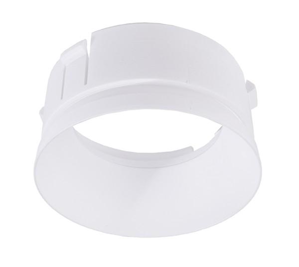 Deko-Light Zubehör, Reflektor Ring Weiß für Serie Klara / Nihal Mini / Rigel Mini / Can, Kunststoff
