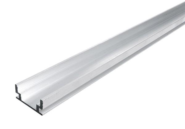 HR-AluMinium, Silber-matt, 2000 mm