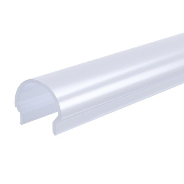 Reprofil, Abdeckung R-01-10, Kunststoff, milchig 40% Transmission, Länge: 3000 mm