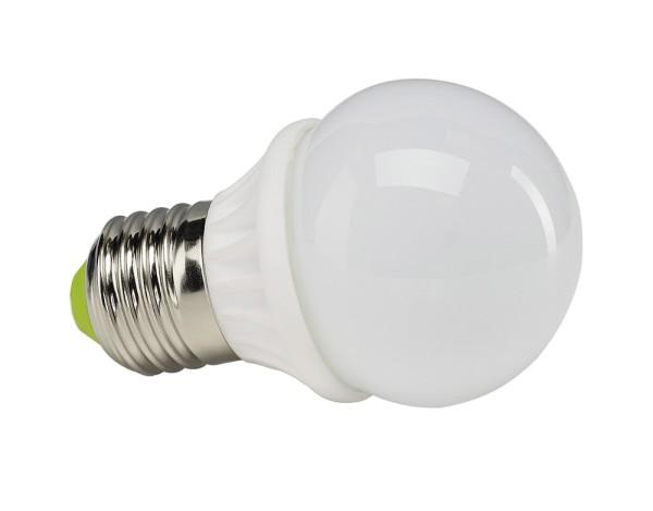 E27 LED SMALL BALL, Leuchtmittel, 260lm, 3000K, 4W