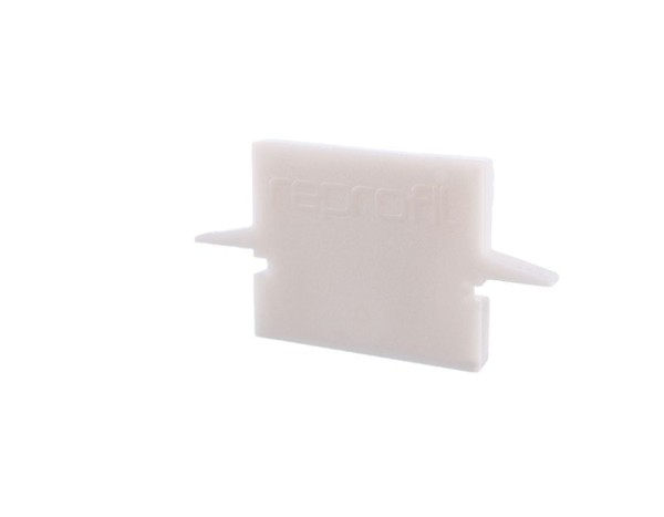 Reprofil Profil Zubehör, Endkappe H-ET-01-08 Set 2 Stk, Kunststoff, Weiß, 23x6mm