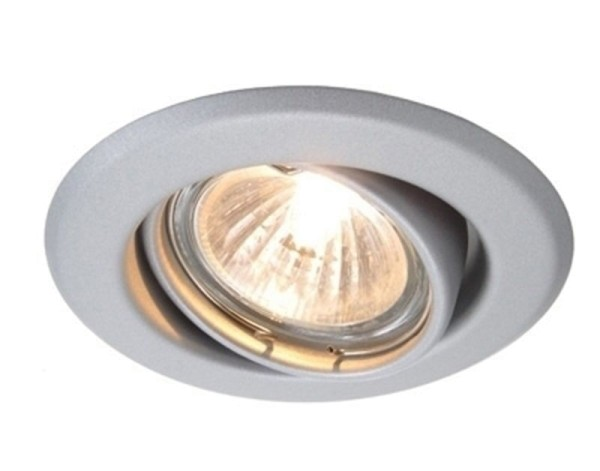 Deko-Light Deckeneinbauring, Metall, silberfarben matt, 50W, 12V