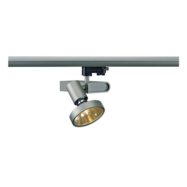 SLEEK SPOT G12, silbergrau, 70W, inkl. 16° Reflektor und 3P.-Adapter