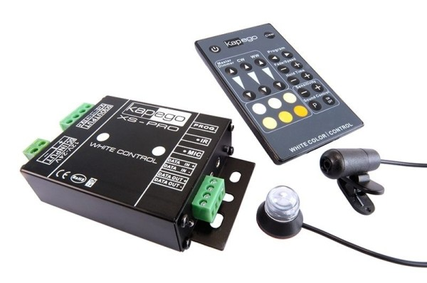 Deko-Light Controller, XS-Pro White Color, Aluminium Druckguss, Schwarz, 360W, 12-24V, 105x65mm