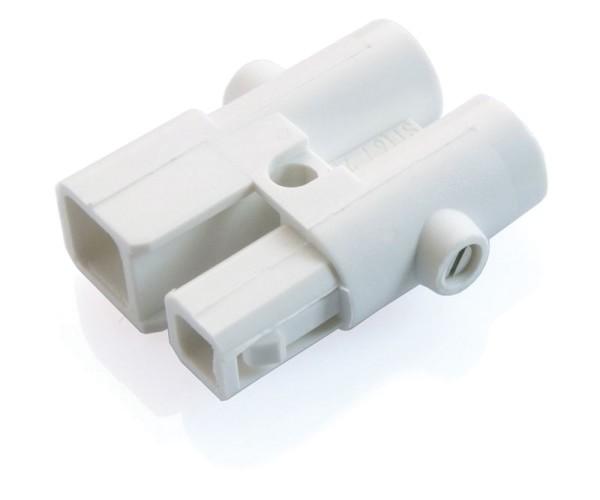 Zubehör, Wieland Stecker Verteilerblock ST16, Kunststoff, Weiß, 12V, 24x18mm
