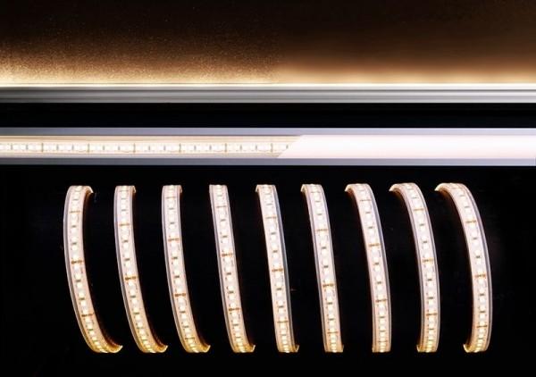 Deko-Light Flexibler LED Stripe, 3528-180-24V-2700K-5m-Silikon, Kupfer, Weiß, Warmweiß, 120°, 55W