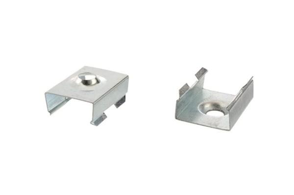Reprofil, Halteklammer - 08 Set 2 Stk, Metall, Länge: 20mm