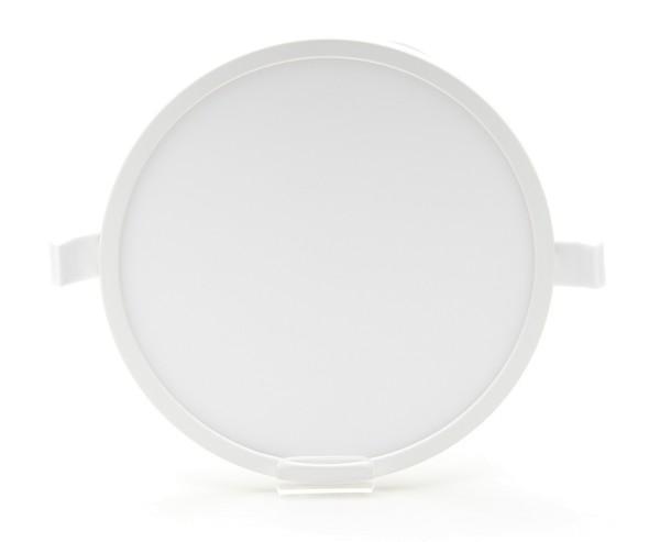 Deko-Light Deckeneinbauleuchte, Alya, Kunststoff, Weiß, Warmweiß, 110°, 7W, 230V
