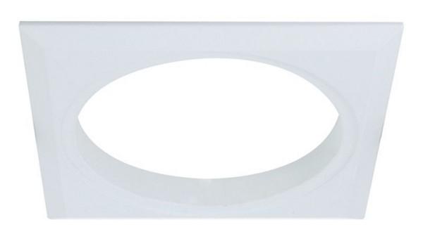 Deko-Light Deckeneinbauleuchte, Tura Grundrahmen 1er quadratisch, Weiß