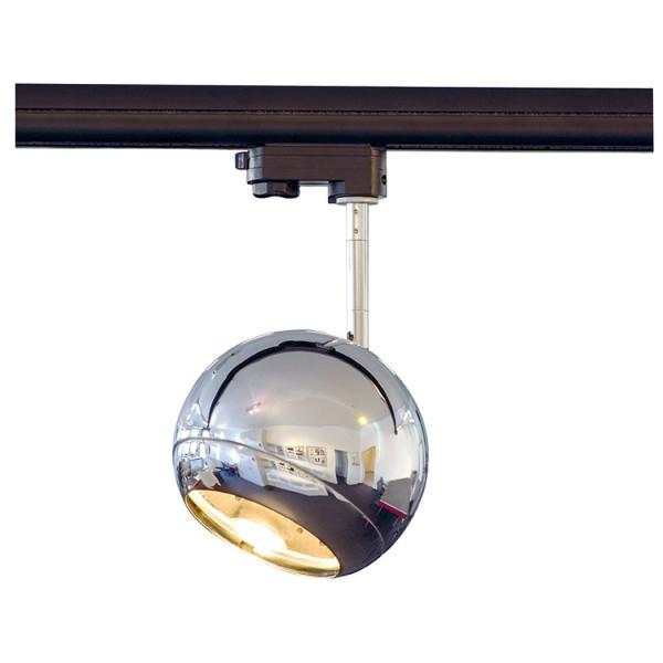 LIGHT EYE SPOT, chrom, GU10, max. 75W, inkl. 3P.-Adapter