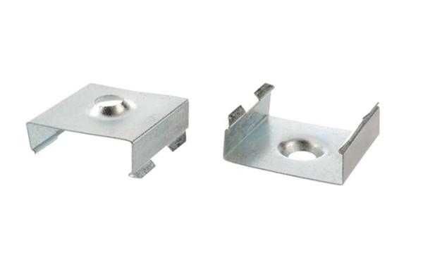Reprofil, Halteklammer - 15 Set 2 Stk, Metall, Länge: 20mm