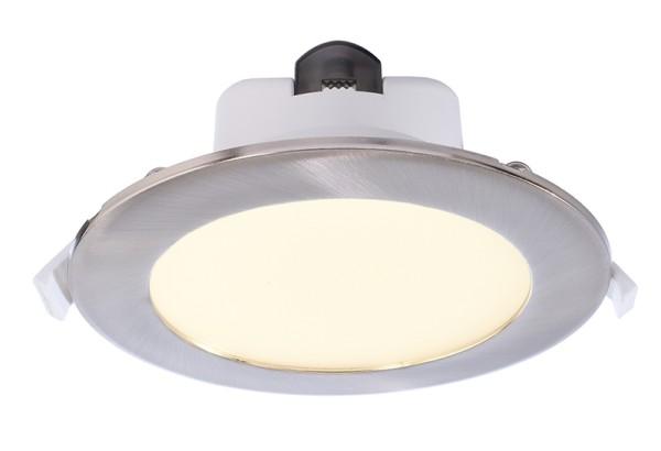 Deko-Light Deckeneinbauleuchte, Acrux 145, Kunststoff, weiß matt, Warmweiß + Neutralweiß + Kaltweiß