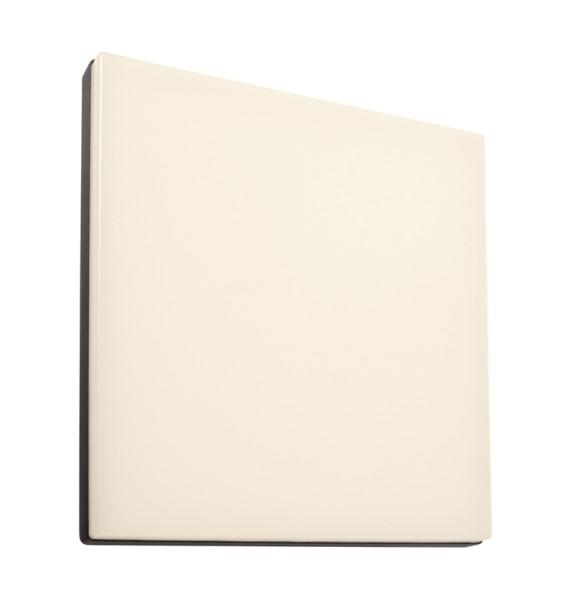 Deko-Light Wand- / Deckenleuchte, Mensae eckig, Aluminium Druckguss, dunkelgrau, Warmweiß, 115°, 18W