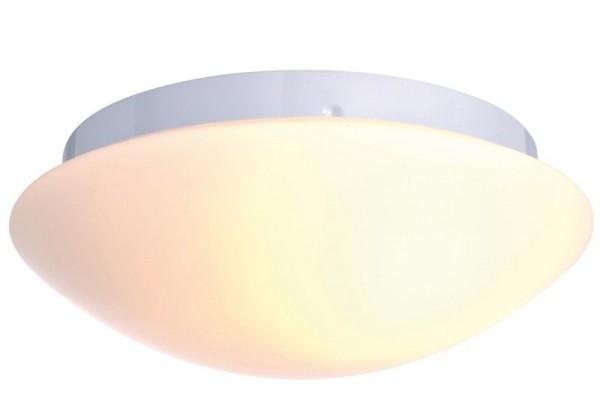 Deko-Light Deckenaufbauleuchte, Euro II, Metall, weiß, 40W, 230V