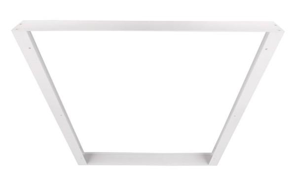 Deko-Light Zubehör, Aufbaurahmen 60x60, Aluminium Strangpressprofil, weiß, 603x603mm