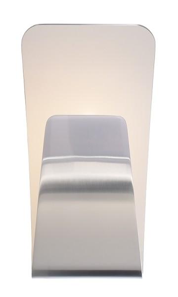 Deko-Light Wandaufbauleuchte, Canopus, Aluminium Druckguss, silberfarben, Warmweiß, 138°, 16W, 230V
