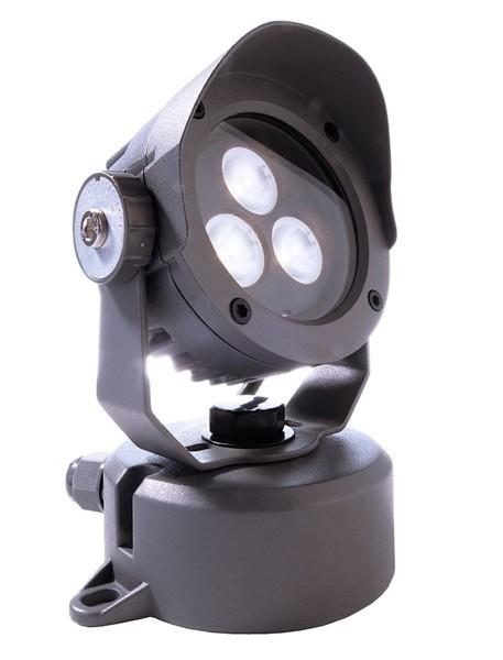 KapegoLED Boden- / Wand- / Deckenleuchte, Power Spot IV CW, inklusive Leuchtmittel, Kaltweiß, 5,00 W